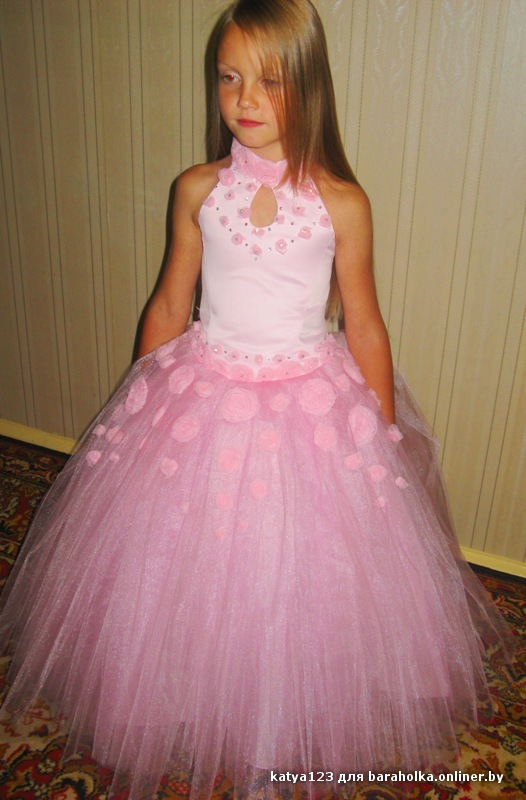 Как сшить платье бальное девочка