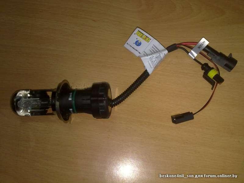 Замена ксеноновых ламп своими руками фото