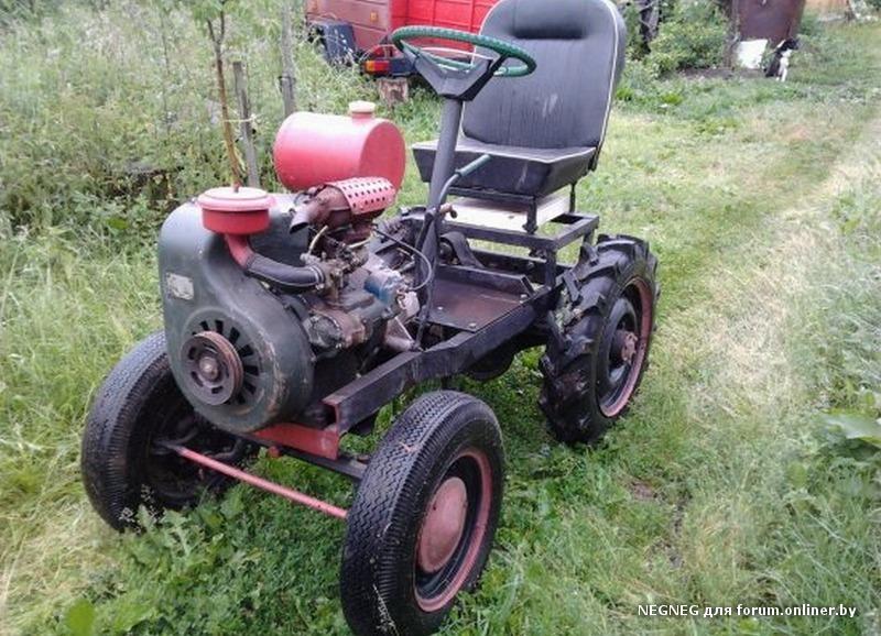 134Куфар самодельный трактор беларусь