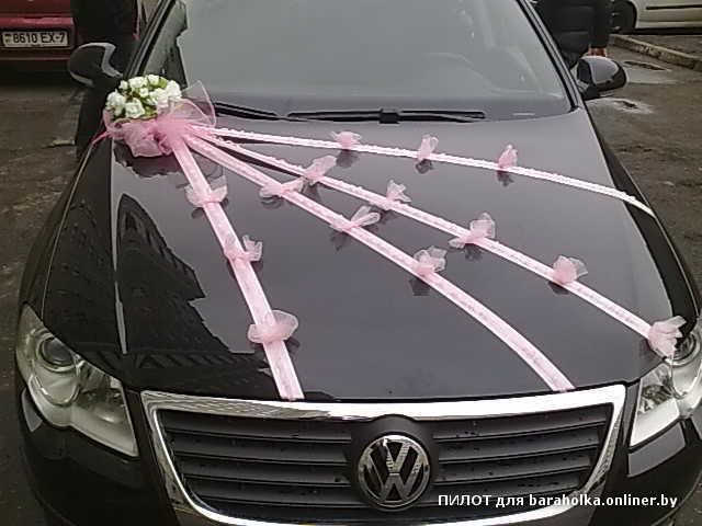 Украшаем капот свадебной машины своими руками
