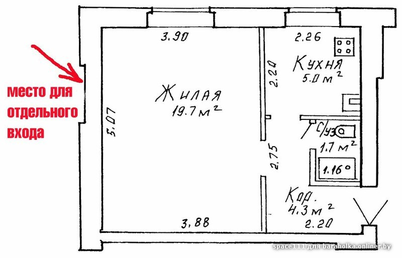 Как сделать из квартиры отдельный вход