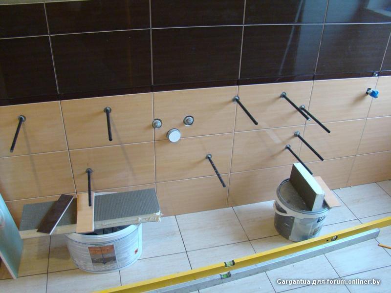 Как сделать консоль для раковины в ванной