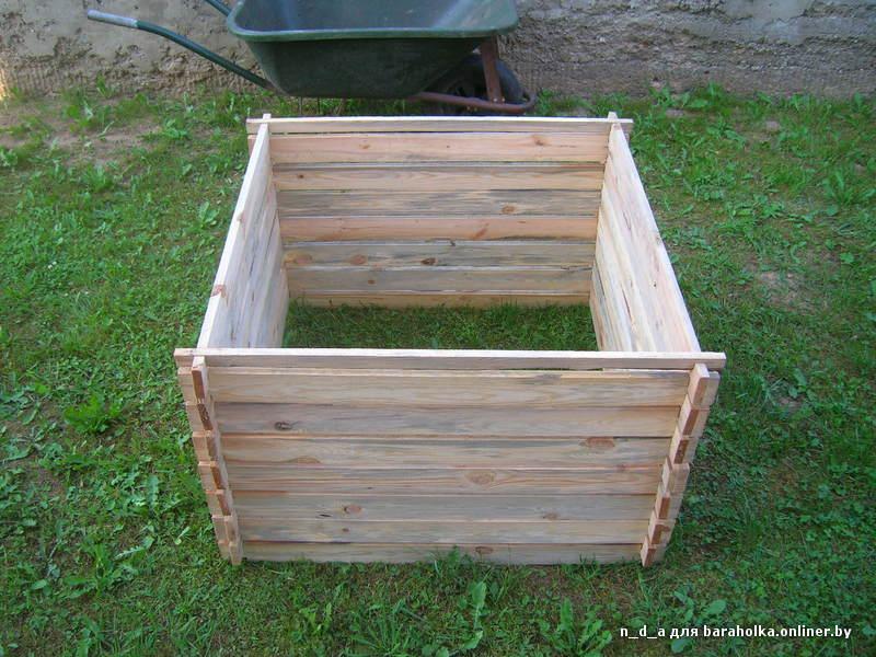 Ящик для компоста видео