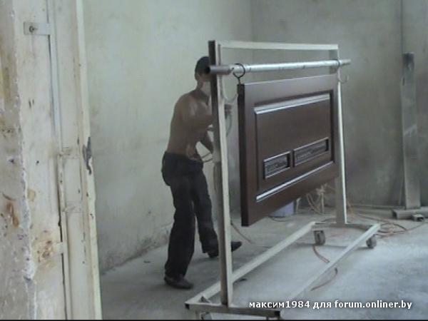Тёплая металлическая дверь своими руками 88