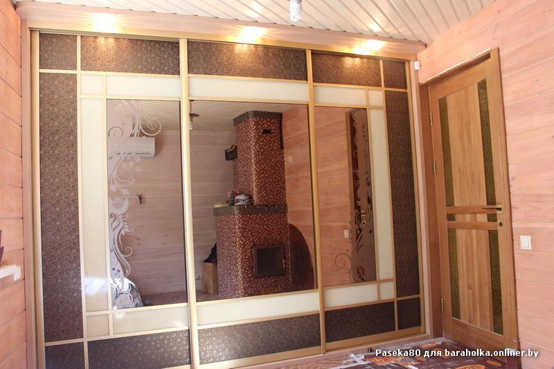 Эксклюзивные шкафы купе с оригинальными фасадами - барахолка.