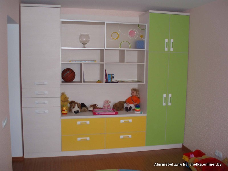 Шкаф в детскую комнату для ребенка. арт.7 купить в санкт-пет.