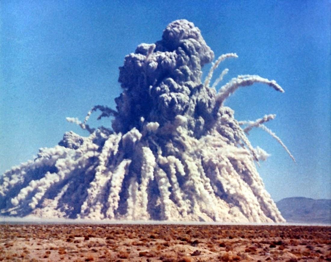 92 ядерных взрыва на планете земля
