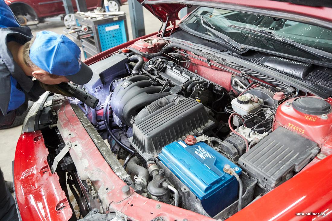 Диагностика 406 двигателя