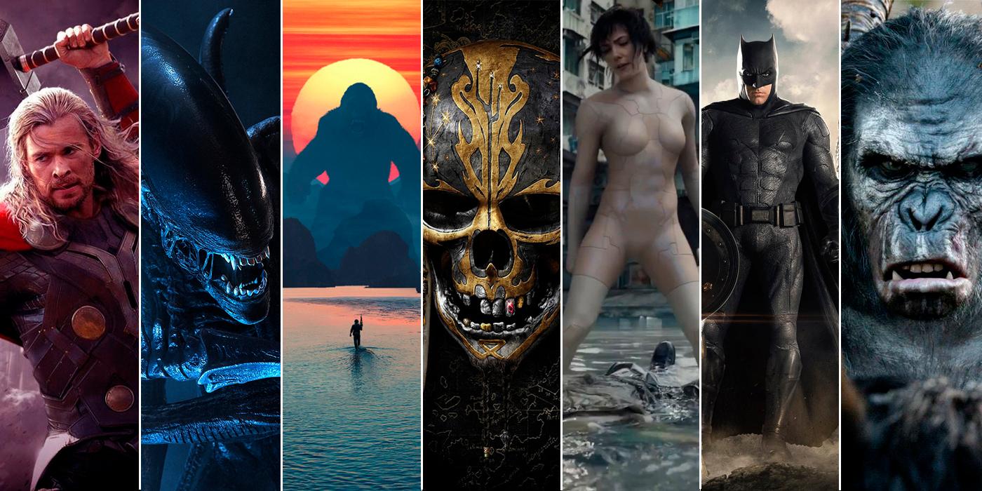Рейтинг новых фильмов лета 2017