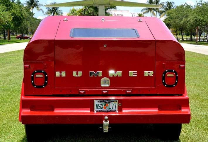 Из брутального Hummer H1 сделали забавный «гражданский ...