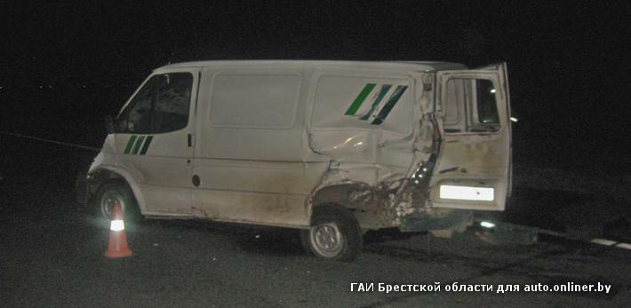 На трассе М1 семейная пара на Ford сбила лося, а потом в их машину врезалась фура
