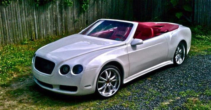 Американец сделал из Chrysler кабриолет Bentley | Автомобили ...