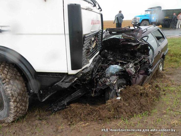Авария под Несвижем: погибла семья из трёх человек