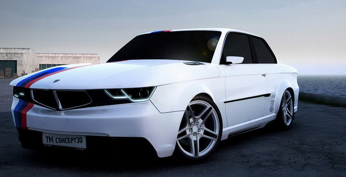 BMW e30 от тюнинг ателье