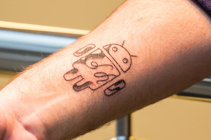Татуировка фото для андроид