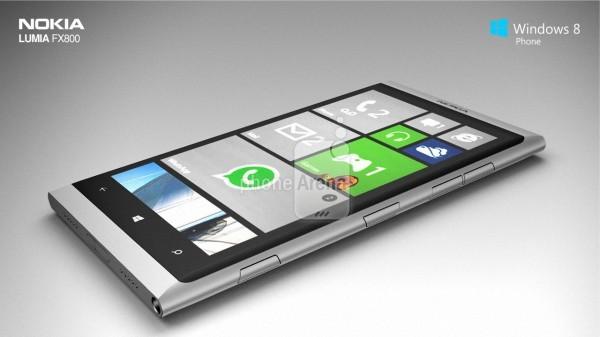 Дизайнеры показали концепт Nokia Lumia FX800