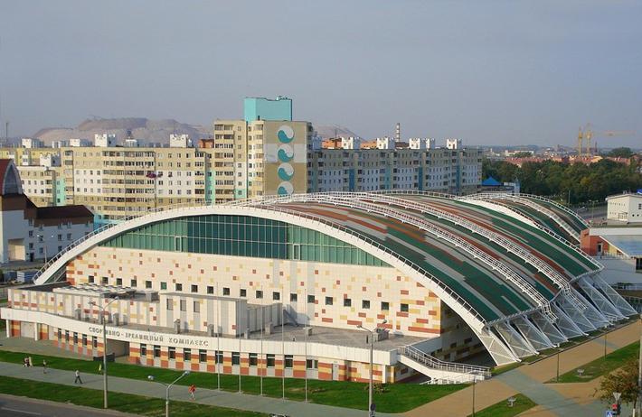 5. Ледовый дворец спорта, г.Гродно.  Вместимость 3 000.  Построен в 1991 году.