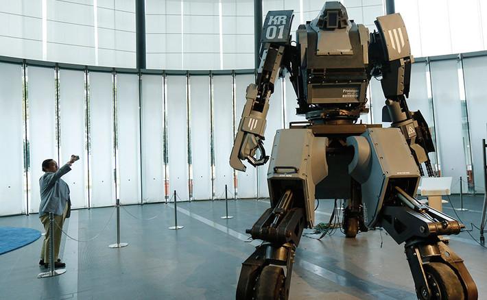 боевого робота Kuratas.