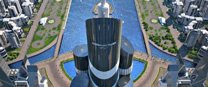 Строительство в Азербайджане самого высокого небоскреба планеты обойдется в $2 млрд