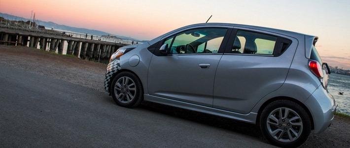 Новый электрический Chevrolet Spark в России?