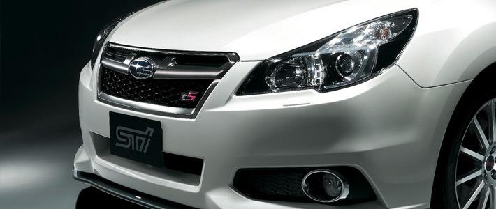 Subaru показала новую версию Legacy STI