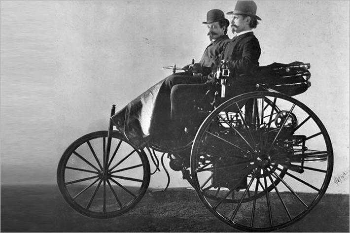 Первые автомобили в мире фото