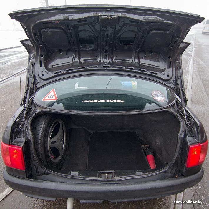 Багажник на крышу ауди 80 б3