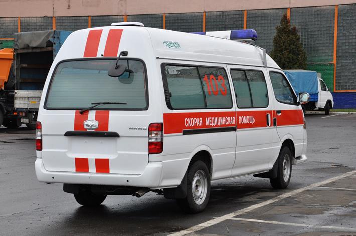 ...завода имеет поразительное сходство с китайским микроавтобусом BAW-15, известный также под брендом Foton Alpha.