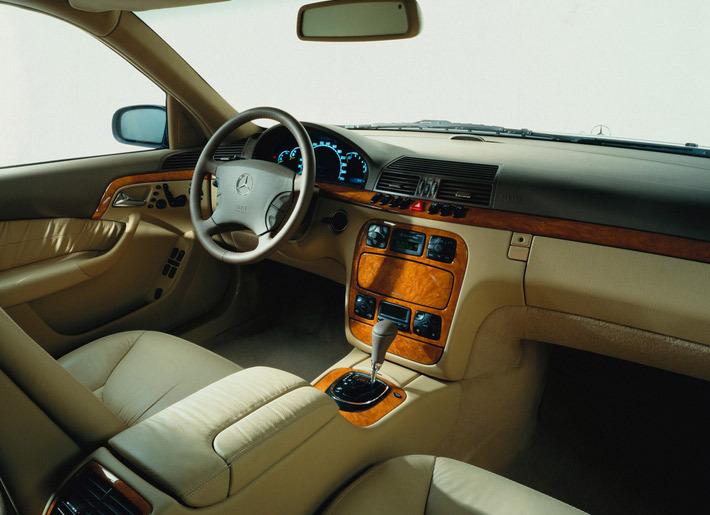 Фотографии Mercedes-Benz S.