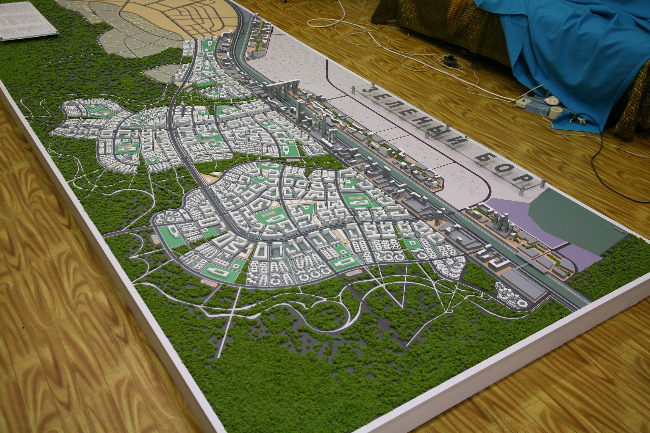 Градостроительный макет своими руками в уфе