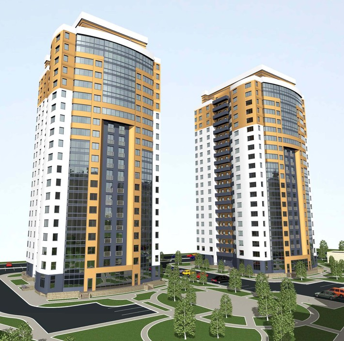 Конструктивная схема зданий