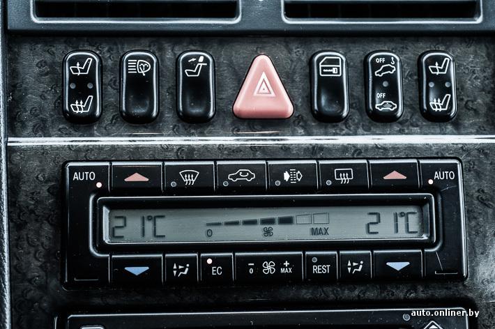 как пользоваться климат контролем на мерседес w210