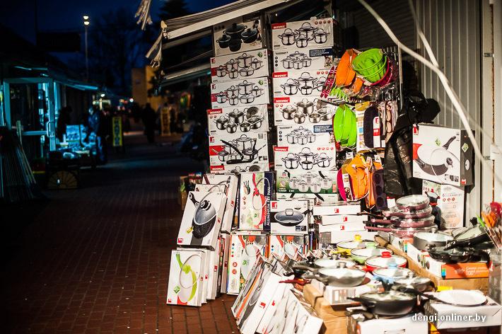 Рынок в Польше. Что покупают
