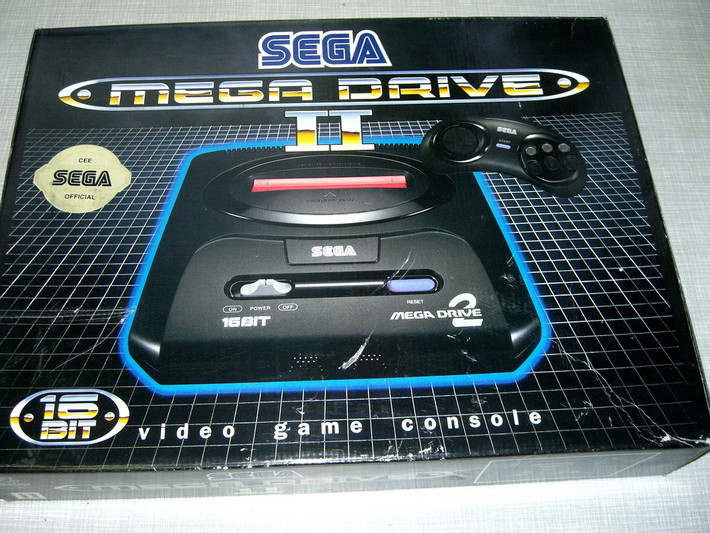 Процессор Mega Drive работал