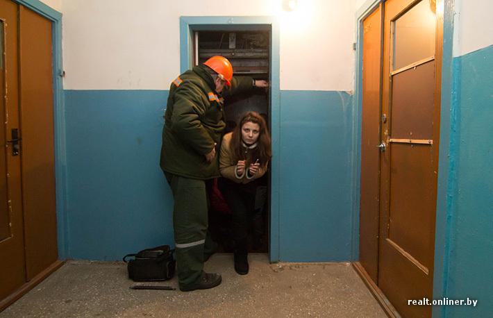 Девушка трахнули на лифте167