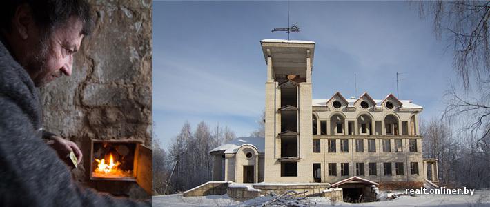 Белорусский миллионер стал инвалидом и живет в хибаре рядом со своим 6-этажным домом