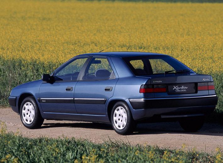 Citroën Xantia '1993–97.