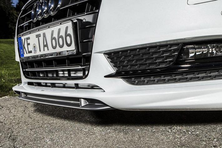 Минские заснеженные дворы ждут тебя, Audi A5 Sportback с подвеской от ABT