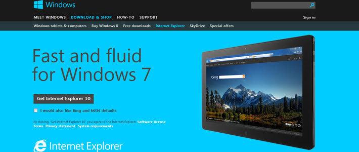 Ускорение работы интернета windows 7