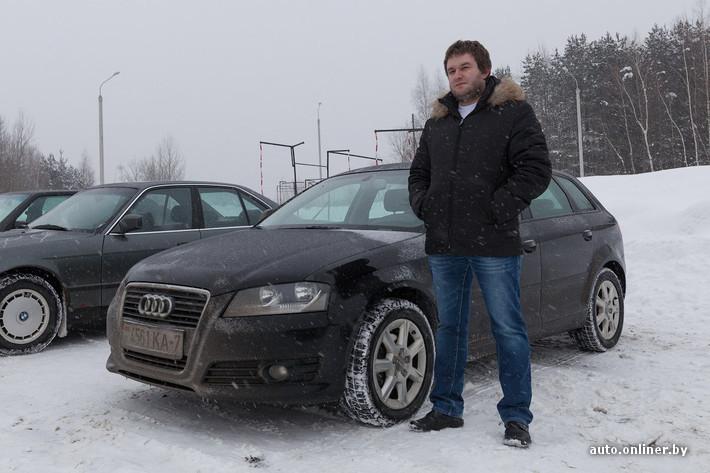 [:-)]Dron (Audi A3 2009 года выпуска)