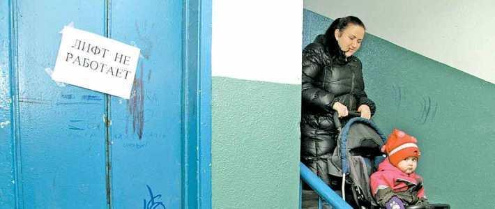 В Минске 1900 лифтов работают