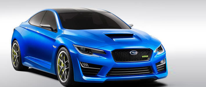 Subaru покажет сегодня стиль нового WRX