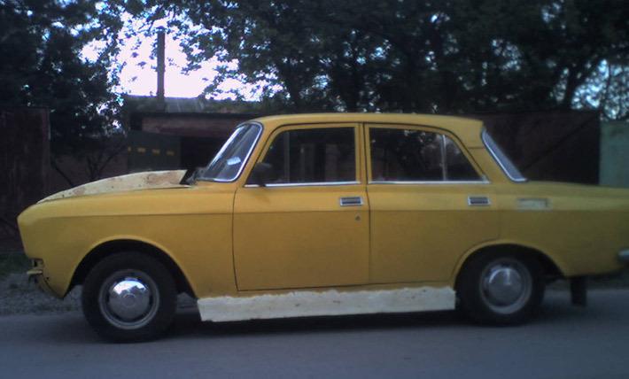 Как сделать машину москвич 119