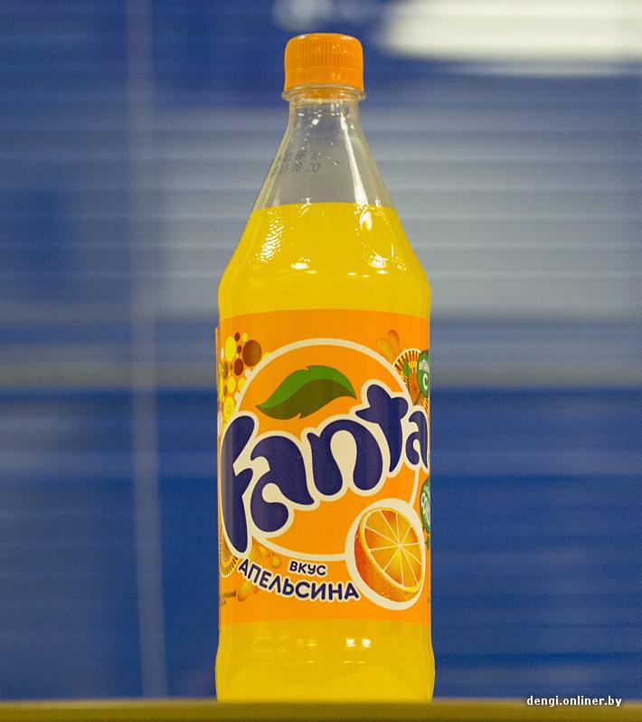 фанта фото бутылки