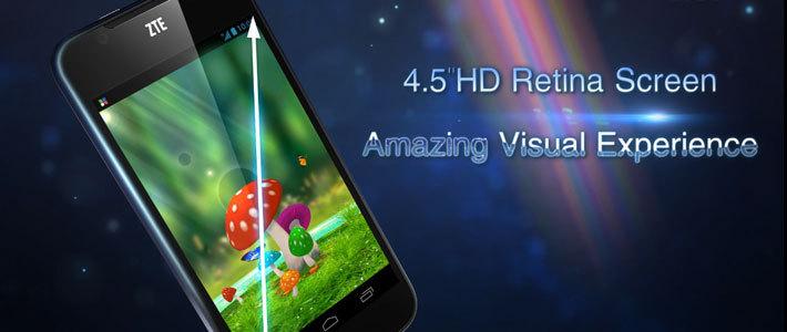 ZTE и velcom представили смартфон ZTE Grand Era с Retina-экраном