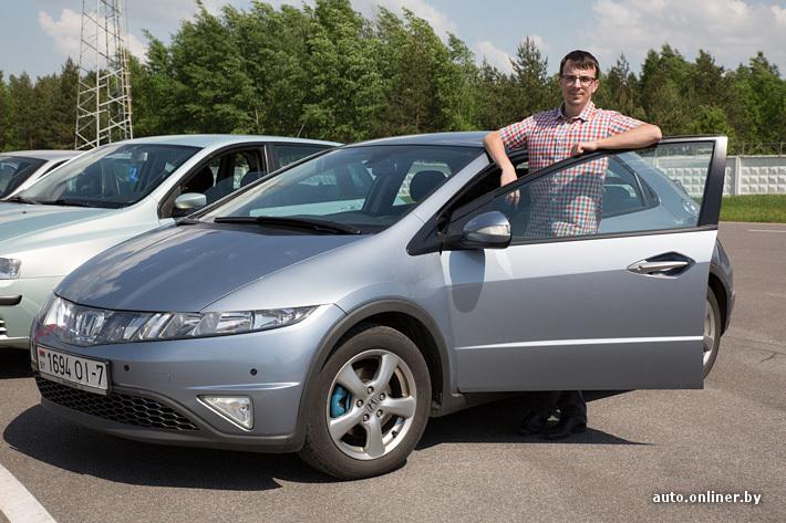 dirmax (26 лет) автомобиль — Honda Civic 2006 года выпуска