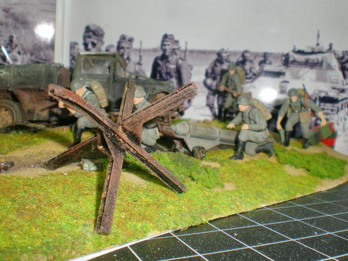 Макет война своими руками