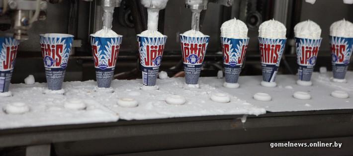 Как в Беларуси делают мороженое