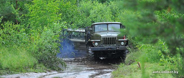 Военный тест-драйв: на что способны списанные «Уралы» и КАМАЗы?