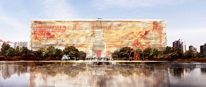 В Пекине могут построить Национальный музей, облицованный полупрозрачным камнем